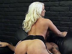 Muscular dude Karlo Karrera loves to bang a delicious big titted MILF Alura Jenson. She enjoys riding on his thick cock and suckling it thoroughly.