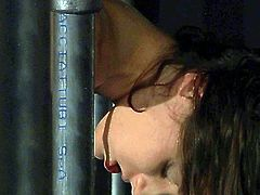 Sextractive porn actress Anita Bellini is fond of restraint elements in sex games. It turns her on like nothing else in the world. So, she is totally submissive to the perverted guy who ties her up giving her no change to make a move. He plays with her pussy using various sex toy. The master also spanks Anita's ass leaving red traces on her butt cheeks. Hot BDSM scene brought to you by Subspace Land.