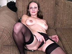 A horny fucking mature bitch gets naked for the camera and performs a hot solo scene for those of you into older women. Check it out!