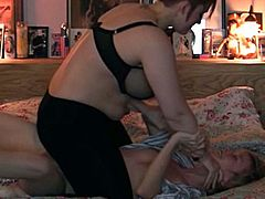 Check out various scenes with horny lesbians who love to dminate each other! It is more than a pillow fight in the bedroom!