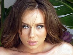 Adorable Capri Anderson feels amazing while deep finger fucking her wet pussy