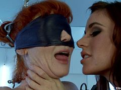 Sticky pads and whatnot all things these bitches use to get off in this kinky fucking bondage scene right here, check it out !