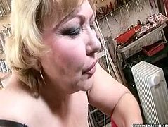This slutty mature aunty is craving for climax so she is up for any vile and bizarre action. Watch her getting fucked hard with sex machine. Female ejaculation scene in a filthy 21 Sextury porn video.