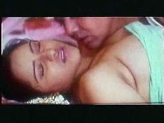 Busty Indian girlfriend gets her gorgeous body fondled