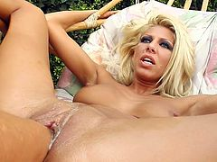 Clara inserts her full fist inside Peaches'  pussy. Peaches then begins to fist Clara who squirts A