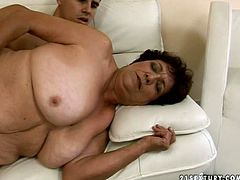 21 Sextury xxx clip provides you with an ugly fatso. This old whore with droopy big tits seeks to be fucked both missionary and doggy, cuz her old cunt hasn't been polished for a while.
