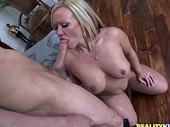 This sizzling and gorgeous honey Austin Taylor is having a lot of fun! She gets naked and starts taking this dude for a tour deep in her beaver!