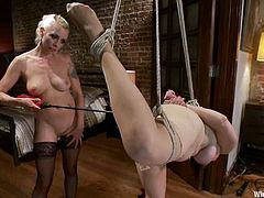 Annika gets dominated and fiercely fucked by Lorelei Lee