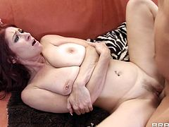 Big tits milf gets her tight ass deep pounded in amazing anal hardcore scene