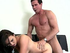 Examine the extremely hot porn action with Ally Style and Peter North spending cool time together. Naughty babe is getting sweet loving holes of hers pounded so well.