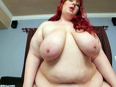 See the horny and perverse bbw redhead Raylen Starlight devouring a thick rod of black  meat in this amazing vid. Then she's ready for her clam and ass to be drilled balls deep into kingdom come by a vicious ebony stud.