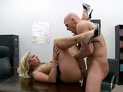 Devon Lee Anal sex inside the office on the table