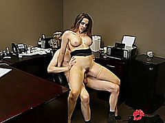 Chanel Preston in Bangin the Boss (Scene 1) // Story: Chanel Preston knows a thing or two about how to keep a job, mostly that's how to fuck and suck the hell out of her boss till he can't speak let alone fire.
