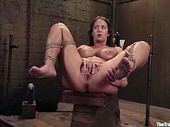 Trina Michaels gets punished hard by Maestro in hot BDSM video