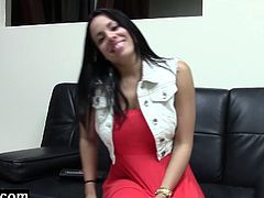 Watch the gorgeous brunette Cuban belle Luna Star giving her man a hell of a pov amateur blowjob. Then it's time for her tight clam to be drilled hard into a superb orgasm before her face gets covered in fresh cum.