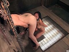 Asian Tia Ling Dominated and Fucked by Bobbi Starr in BDSM Vid