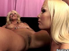 Welcome to enjoy a really great Pornstar FFM sex clip. Bright sexy blond heads with nice tits and smooth asses have a voracious appetite for cum. Spoiled buxom chicks enjoy sucking a dick, licking the balls and giving a great rimjob right on the small couch.