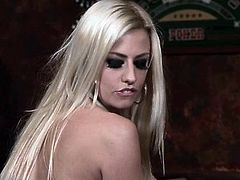These two hot blondes and Eric are cops. Yeah, really bad ass cops! They set the plan and then the sluts go to Nikita for information. They talk with her and decide it's time to do it the hard way, with Eric. This dude knows how to deal with such a naughty blonde and eats her pussy to make her start talking.