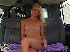 Exciting blonde sweety Sunny Stone gets interviewed and her cock sucking skills are checked out
