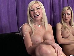 Helena Sweet and Kenzie Marie are two awesome bitches. They suck cock like greedy and polish ass hole of one lucky guy.