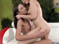 Nataly Gold and Lindsey Olsen have some private time, insisting on fingering and almost fisting their pussies.
