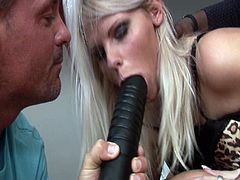 Silvie Deluxe and Mia are crazy about huge cocks. There is no hole where they don't want to be fucked in. On the contrary, they want to be fucked in more holes at the same time.