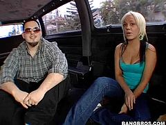 Check out this amazing hardcore scene taking place in the backseat of the bang bus with this dirty blonde slut. Hit play and check it out!