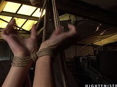 Lascivious mistress puts her skills to the test giving every kind of kinky torture to this sex freak! She fingers her snatch sensually and tenderly making her moan with pleasure. Check out this wild BDSM scene now and I'm kinda sure you will like it.