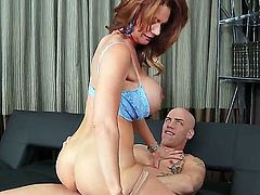 Nothing would stop you from watching the action with participation of Deauxma and Derrick Pierce if you love to relax with hot high quality milf porn! Watch them screwing nicely!