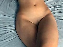 Gorgeous babe taking a huge cock