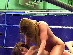 Lesbo wrestling with Cathy Heaven and Nelly Sullivan it is what would make you feel so great! Both gals stay bare before starting to wrestle making us hard from it.