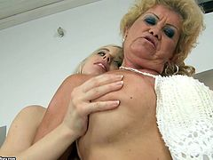 21 Sextury xxx clip will both impressed and pleased you. Spoiled booty and buxom young bondie takes off oldie's clothes. This hot babe tickles and licks the mature cunt passionately to bring lots of pleasure to old lesbian at once.