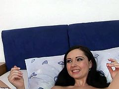 You just need to see this weird but hot 21 Sextury xxx clip. Kinky brunette and blondie with small tits and rounded big asses are naked. Spoiled chicks gonna tease each other's wet pussies with a metal baseball bat for orgasm.