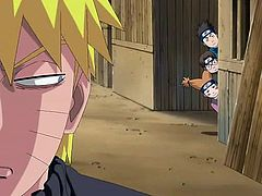 Naruto meets a cute girl at the village. He invites her into a abandoned house where she sucks his rock hard penis. She loves sucking his cock and his cum drips from her lips. She deep throats him until she can't take it anymore.