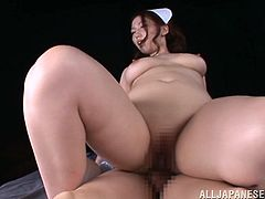 Well, not anymore, as she is here to make you stun and love her twat! Sayuki Kanno is a filthy Japanese nurse who plays a role in POV sex scene!