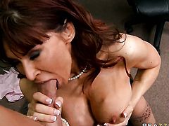 Devon Michaels enjoys some passionate sex with Johnny Sins