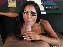 Amazing asian banging at the office