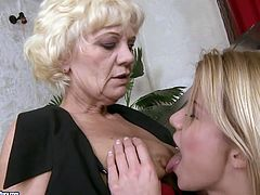 Blonde sexy babe seduces her elderly music teacher. So she goes down on her polishing sticky hairy cunt. Then she gets her tasty pussy eaten dry.