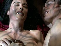Jaime Murray inside A naked Compilation - Dexter