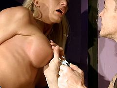 These dirty sluts are house keepers at master's house. Both of them please him in many other ways than watching after his home. So he ties them up and punishes them like dirty sluts. Watch this kinky action in steamy 21 Sextury porn video.