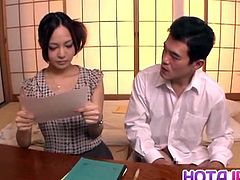 Naughty hot Japanese milf Yukina Momota likes to tease horny guy before having his hard cock gently penetrate her warm and wet little vag in amazing Asian hardcore action. Sweet hottie loves cock sucking and enjoys cum in her naughty mouth. She is a hot one for oral sex!