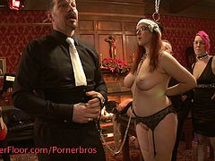 Check out these horny BDSM lovers having a wild orgy on the Upper Floor. You will see some really hardcore action and femdom games!