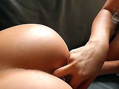 Skilful and stunning porn queen Asa Akira with perfectly shaped firm hooters and round delicious ass lick and fingers her tempting girl London Keyes with long legs to intensive screaming orgasm.