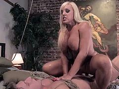 Amazing Alexis Golden ties up and whips Danny Wylde. Then she sucks his dick and rides it passionately.