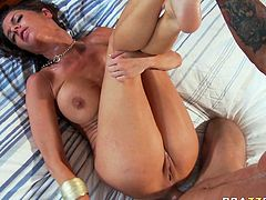 This large dick gently slides up her ass and bang her good in anal hardcore