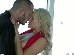 Courtesy of Erotica X you can see the exquisite blonde temptress Mia Malkova as she rides her man's dong with her sweet pink cunt. Her alluring body is absolutely perfect.
