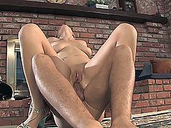 Claudia Downs is a flexible slut who gets off on fucking in all sorts of positions. She has had a boyfriend for a long time but he likes to just lay her down and fuck her with the lights off, so now she is cheating on him with porn studs to get her freak on!