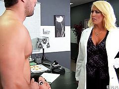 Claire Dames  Alura Jenson with big ass gets a fuck with horny guy Ramon