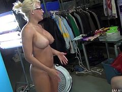 Jacky Joy, Lylith Lavey and Nikki Sexx are having fun in a bedroom. They explore and taste one another's pussies and then give a blowjob to some black stud and ride his dick.