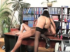 Angelica Heart having sensual sex with hard cocked dude